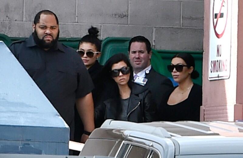 ¿Será por eso que las Kardashian ya se regresaron a LA?