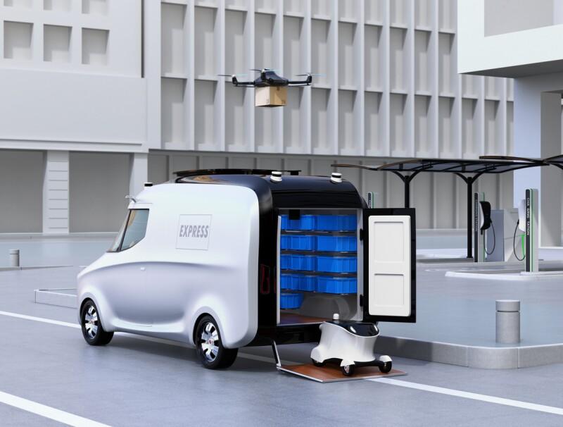Vehículos autónmos para reparto