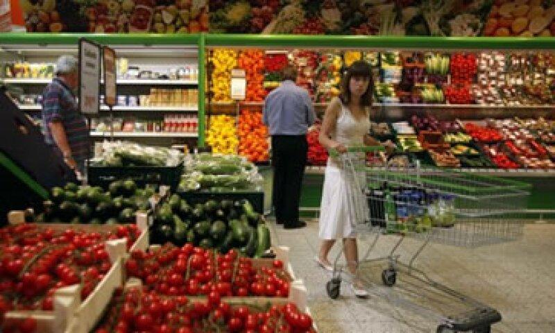 Analistas esperaban un descenso del 0.03% para la inflación mensual. (Foto: Reuters)