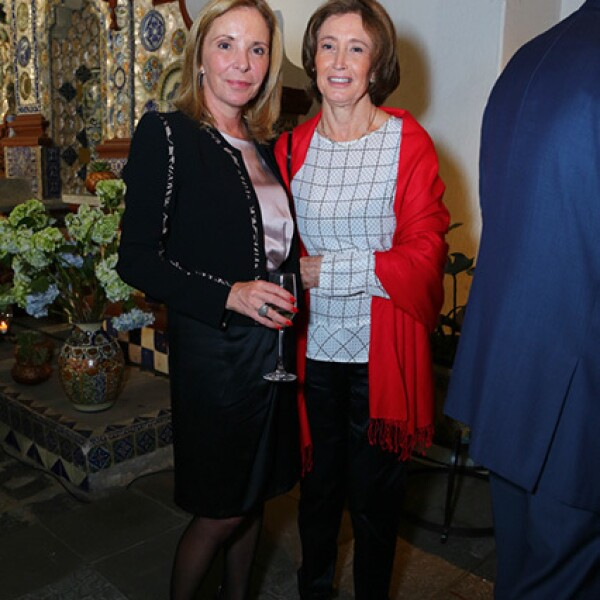 Gina Ruiz y Leonor Corredor