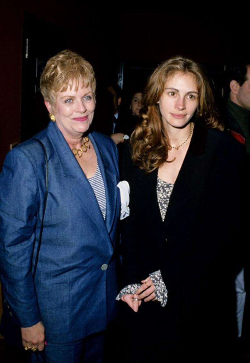 Ella era Betty Lou Bredemus, mamá de Julia Roberts.