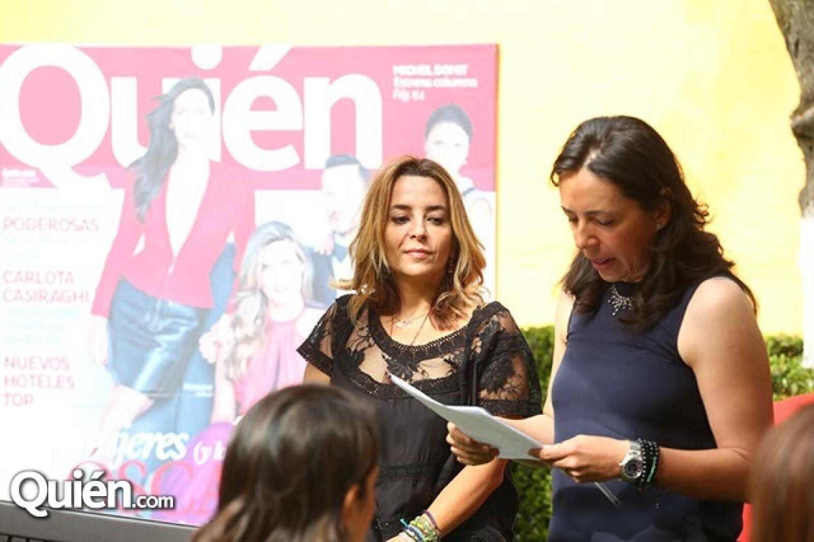 Luisa Serna y Laura Manzo