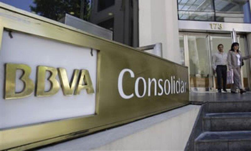 BBVA dijo que las pérdidas por deterioro de activos financieros sumaron 1,085 mde. (Foto: AP)