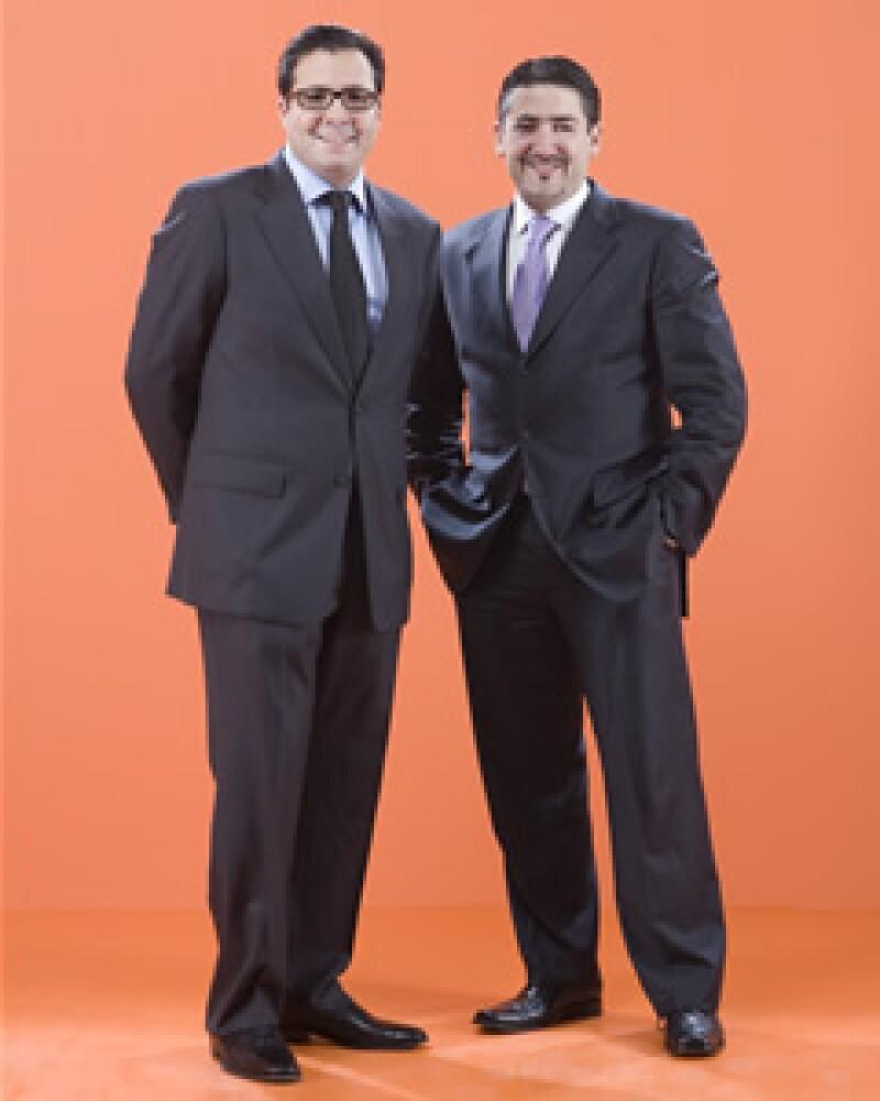 Alberto Ramos y Aníbal Habeica (Foto: Duilio Rodríguez)