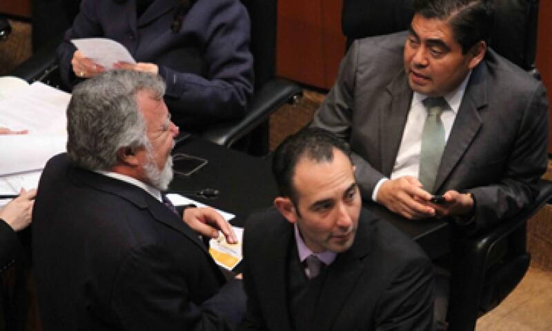 El Código Fiscal es la segunda ley aprobada en el Senado este jueves. (Foto: Notimex)
