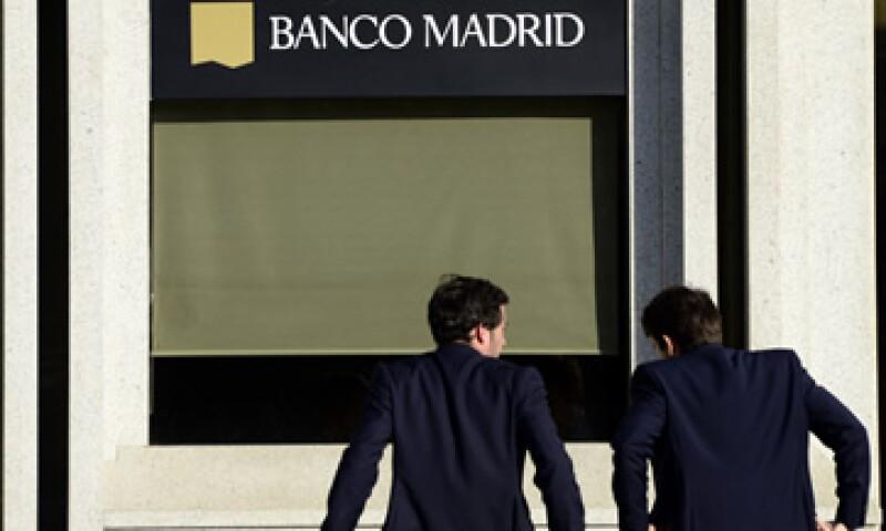 Los depósitos de los ahorradores están asegurados hasta por 100,000 euros en España. (Foto: AFP )