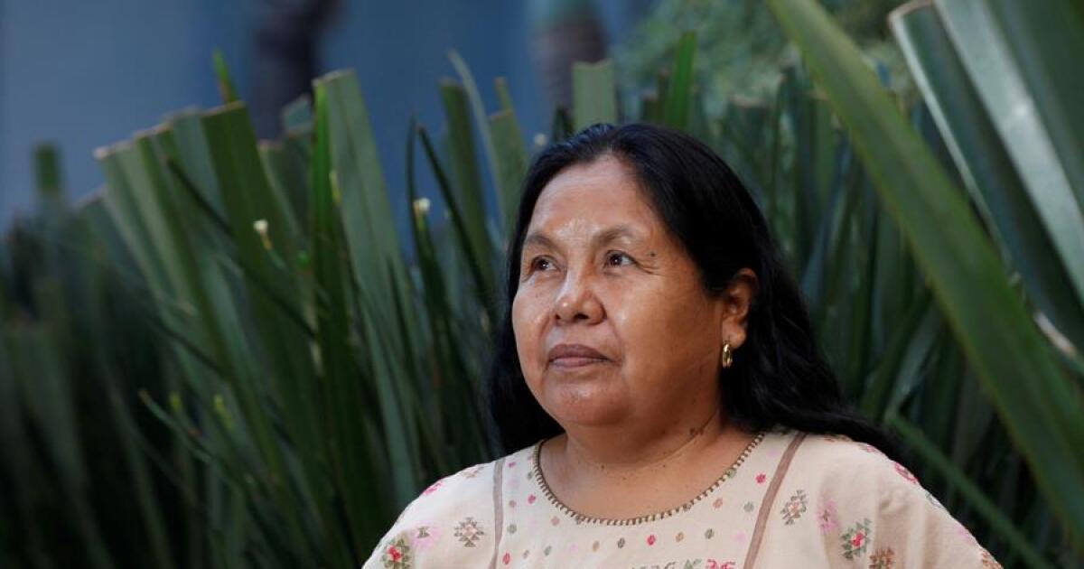 Después de 2018, 'Marichuy' quiere seguir impulsando la voz de los indígenas