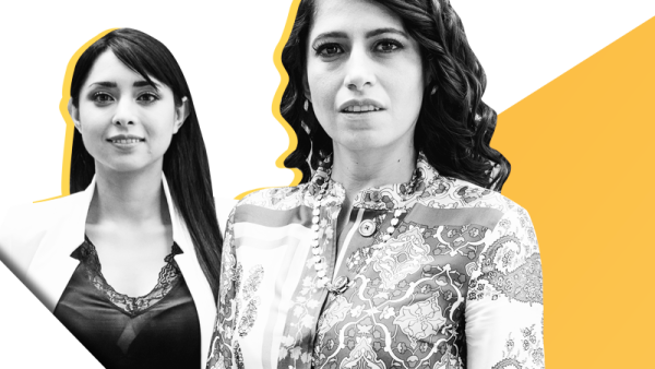 Estefania Medina Ruvalcaba y Adriana Greaves Muñoz