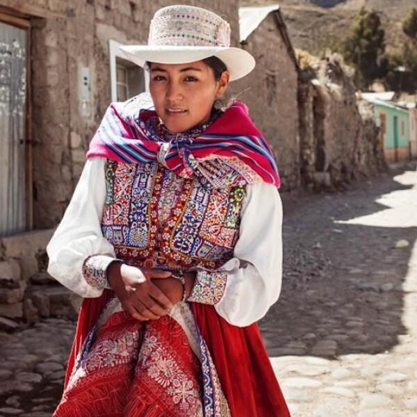 mujer peru