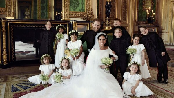 Foto oficial boda Harry Meghan