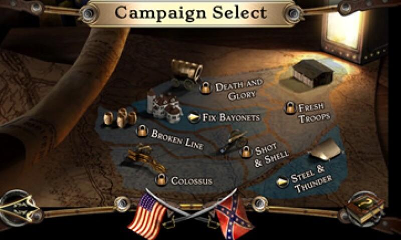 Los juegos Civil War: 1862 y Civil War: 1863, son algunos de los que retiró Apple de su tienda.  (Foto: tomada de huntedcow.com )