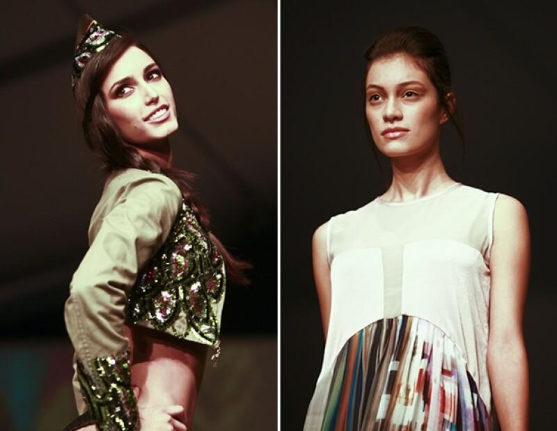 El tercer día de MBFW se presentaron las marcas Agua Bendita y Julia y Renata.