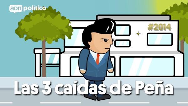 LAS 3 CAÍDAS DE PEÑA
