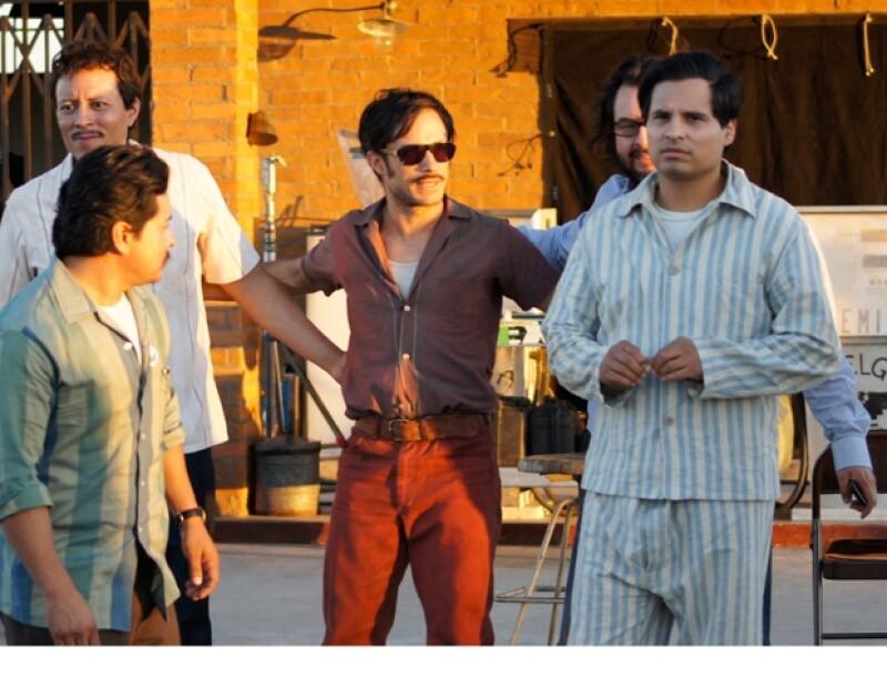 """Los actores trabajaron en la filmación de la cinta """"Chávez: The Fight in the Fields"""" en la ciudad de Hermosillo, Sonora."""
