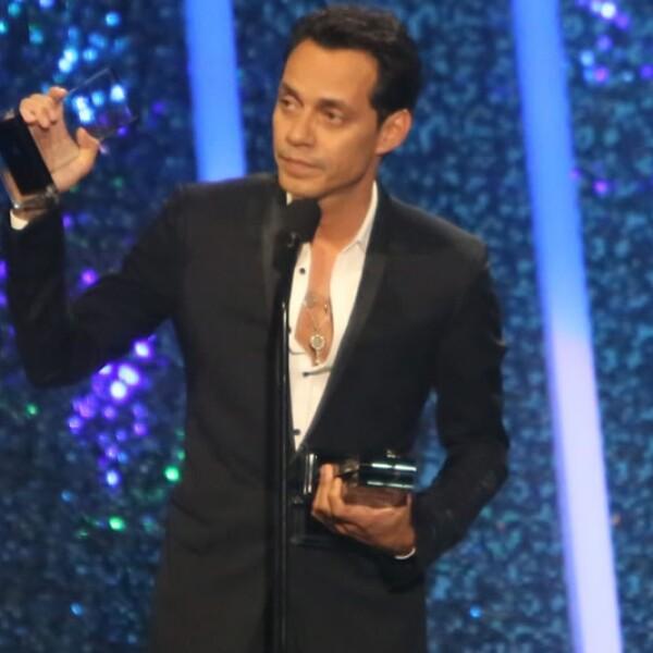 Marc Anthony resultó el gran ganador de los Billboard a la Música Latina 2014