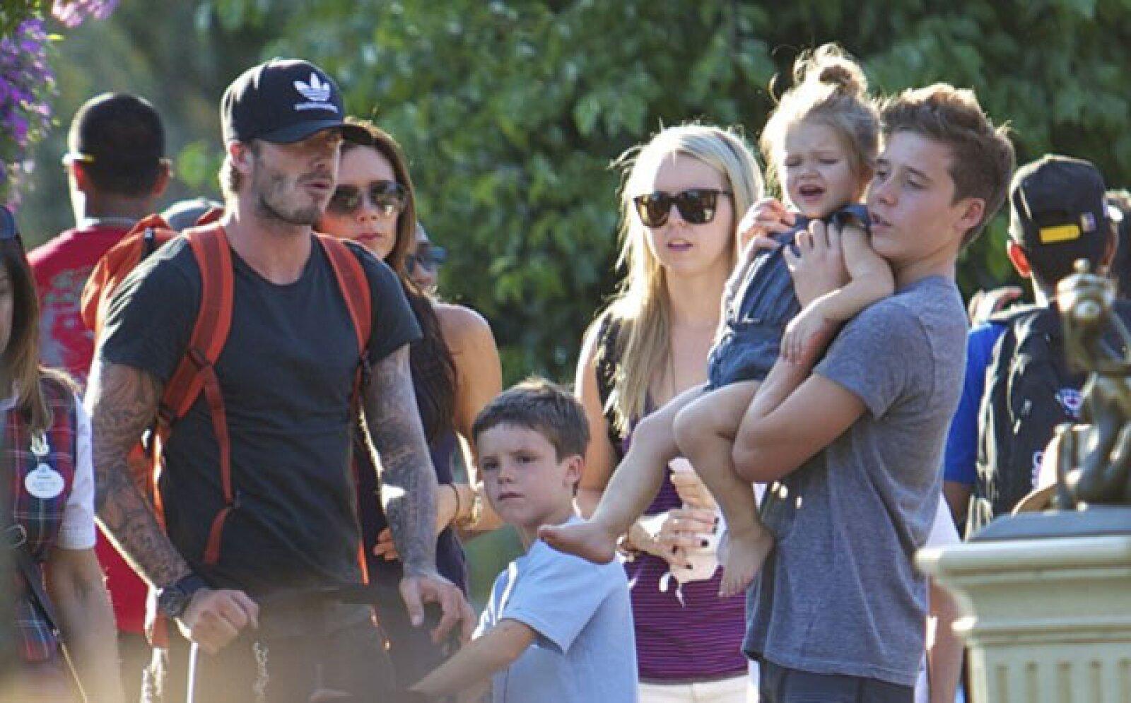 Familia Beckham.