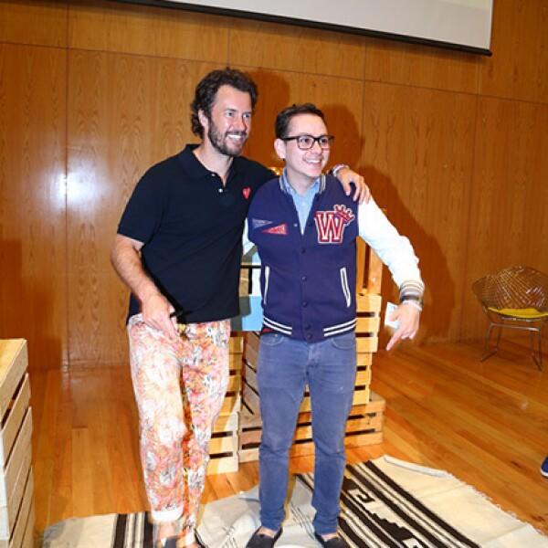 Blake Mycoskie y Fabian Jaime