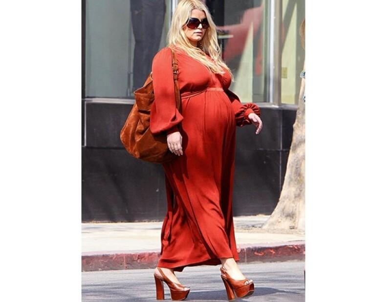 La actriz ha sido criticada porque ha aumentado excesivamente de peso.