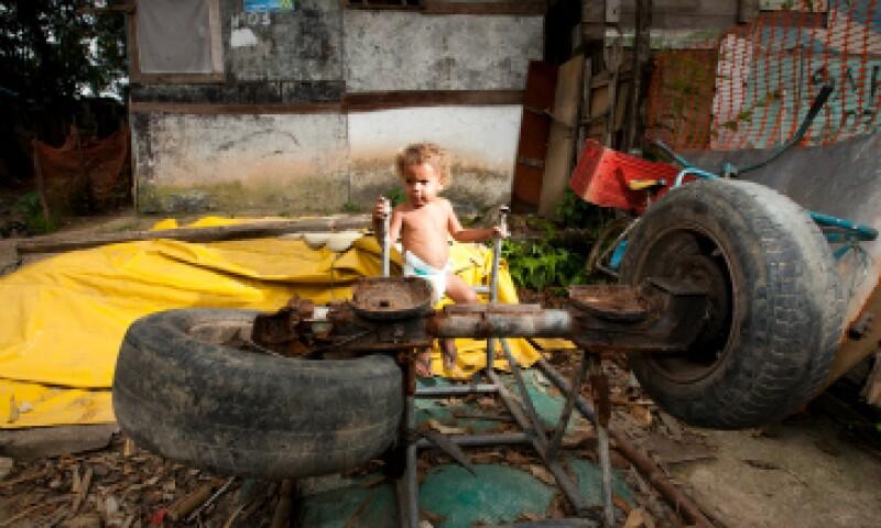 La Comisión Europea considera que América latina es la región más desigual del mundo.(Foto: Getty Images)