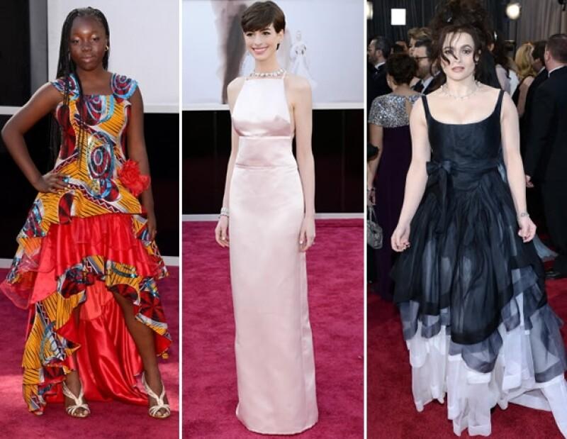 Jennifer Lawrence, Amy Adams y Charlize Theron se coronaron como las actrices con más estilo mientras que Anne Hathaway, Helena Bonham y Rachel Mwanza decepcionaron al público.