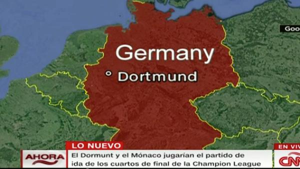 Alemania: juego de fútbol suspendido por explosión