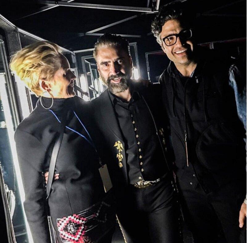 La actriz asistió a la presentación del mexicano este fin de semana en Los Ángeles.