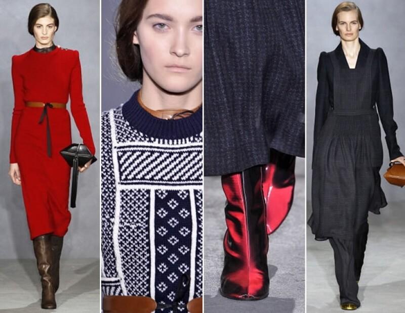 Parte de la colección que presentó en Paris Fashion Week 2014.