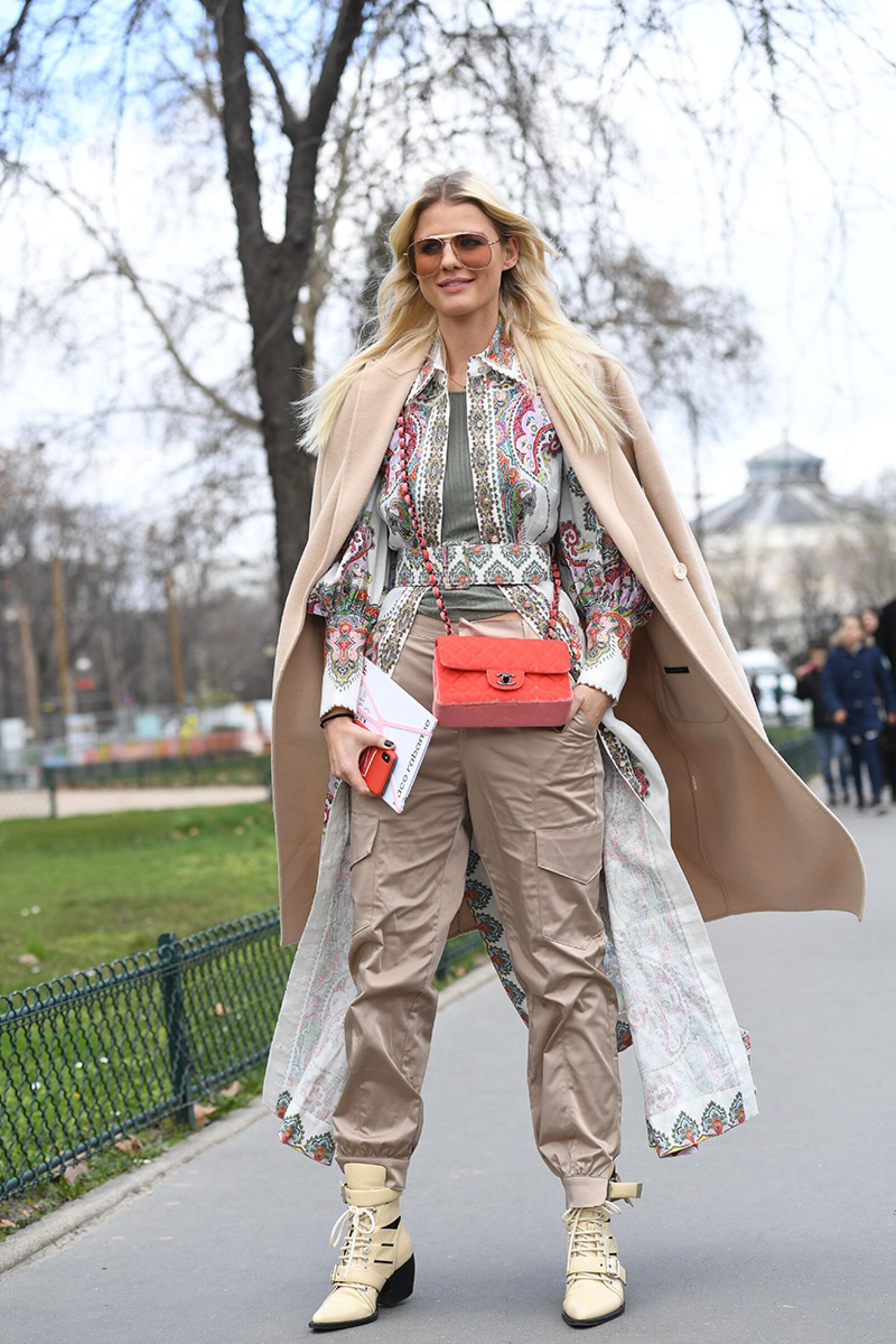 Street style, Fall Winter 2019, Paris Fashion Week, France - 28 Feb 2019