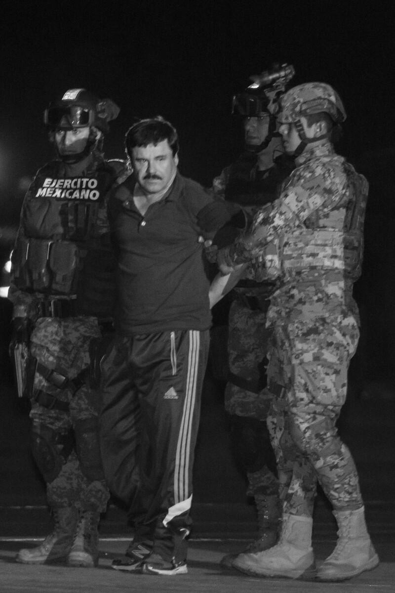 'El Chapo' fue recapturado en enero, luego de casi medio año de estar prófugo.