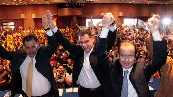 Candidato a la gubernatura de Oaxaca Gabino Cue