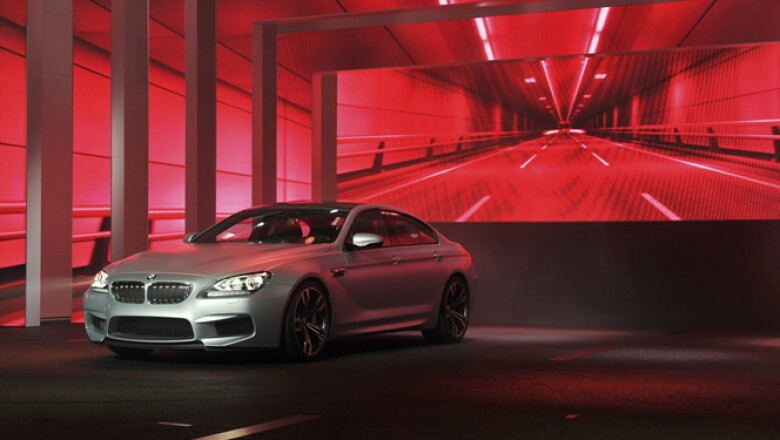 Otro modelo de BMW, el Serie 6 Gran Coupé, también se puede ver en el evento.