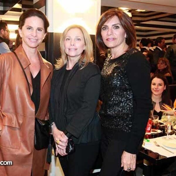 Fernanda González,Cynthia Clanahan y Gabriela Butron