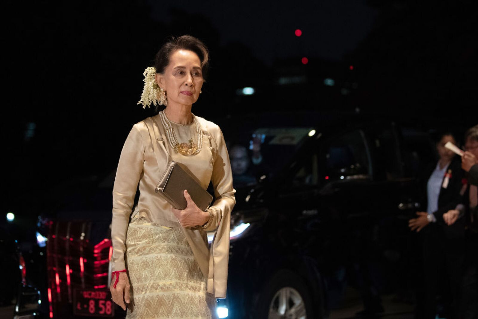 El líder de Myanmar, Aung San Suu Kyi