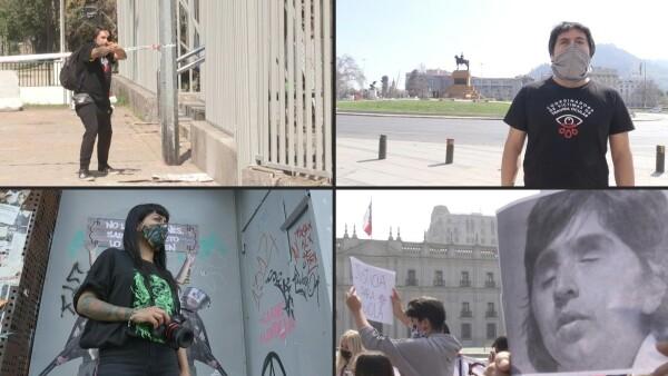 Un ojo de la cara, el costo más alto en un año de protestas en Chile