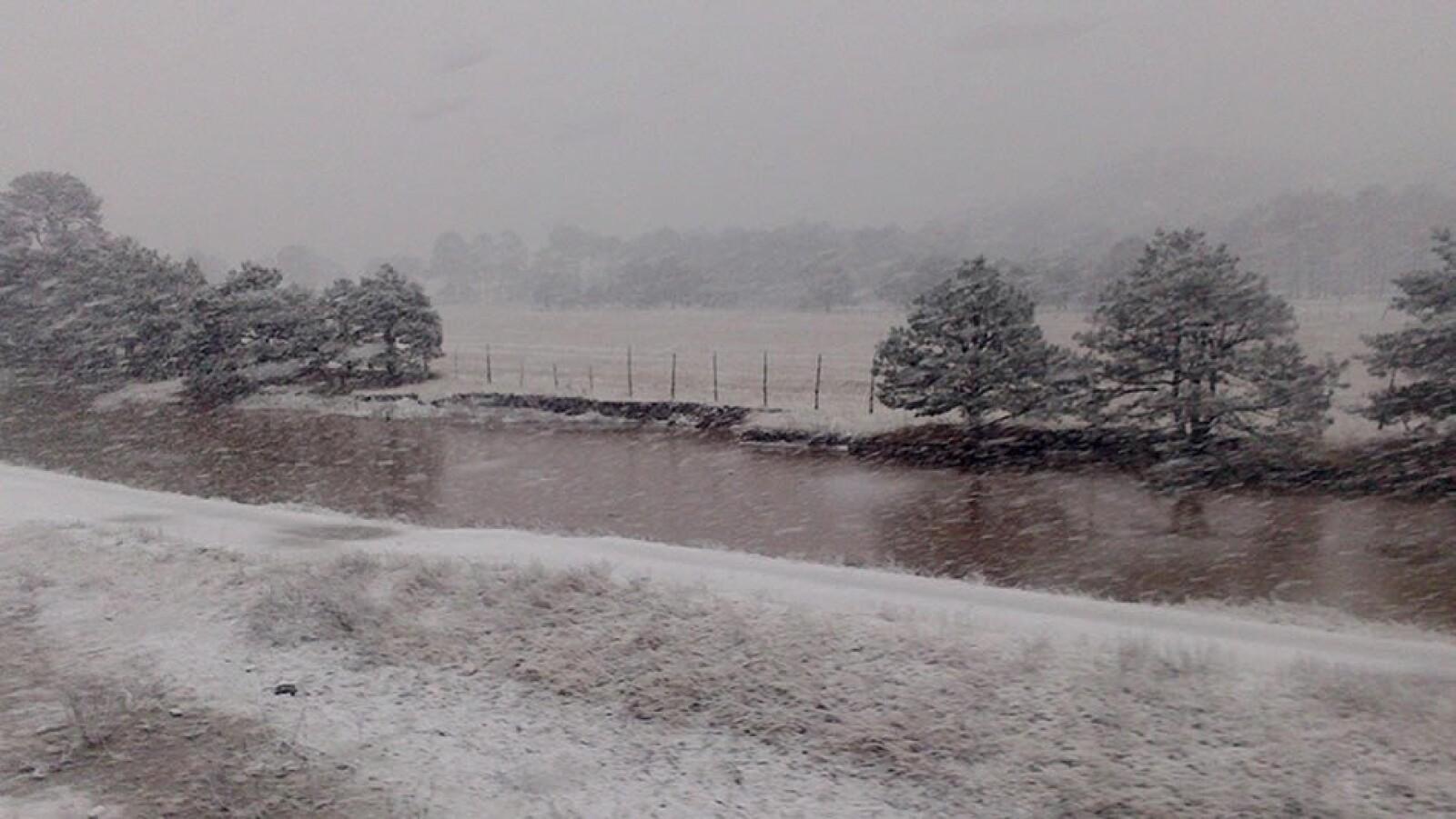 Frio y nevadas en territorio mexicano