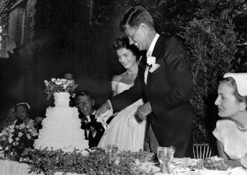 Los Kennedy se casaron en 1953.