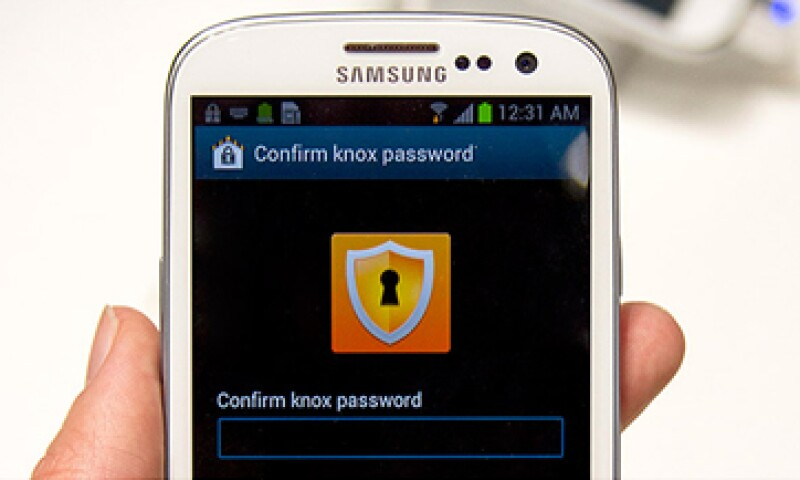 Con su sistema Knox, Samsung intenta competir con BlackBerry en el mercado empresarial. (Foto: tomada de cnnmoney.com)
