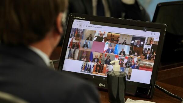 Reunión en videollamada