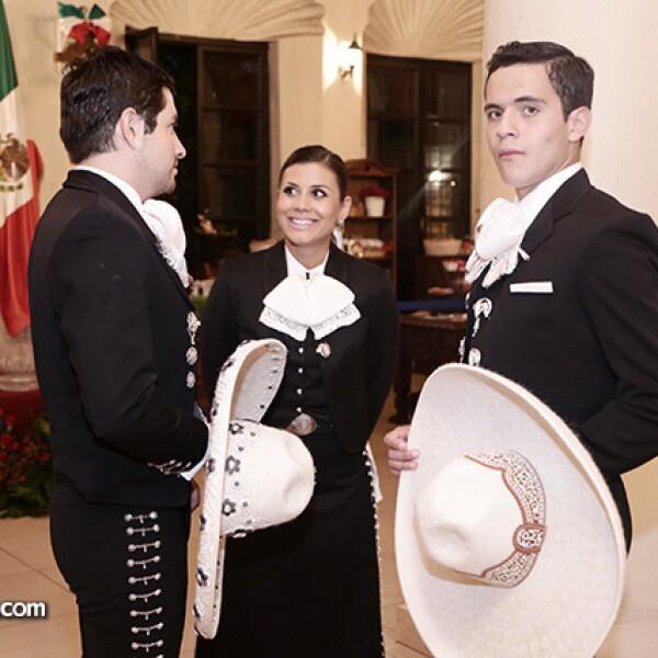 Edgar del Bosque, Sofía Vazquez y Pedro Moreno