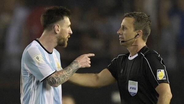 Messi sanción
