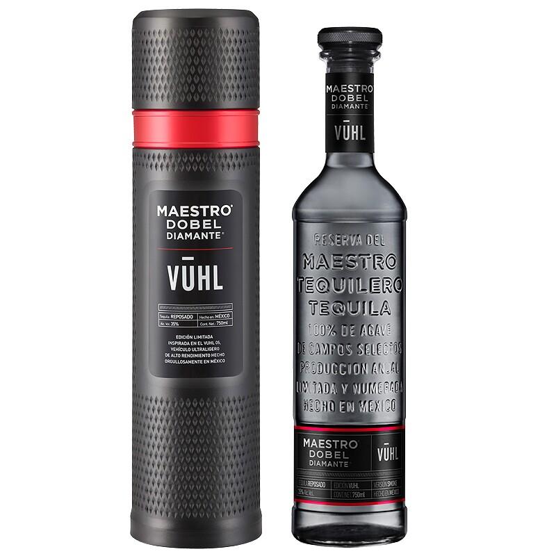 Tequila Vuhl de Maestro Dobel Diamante