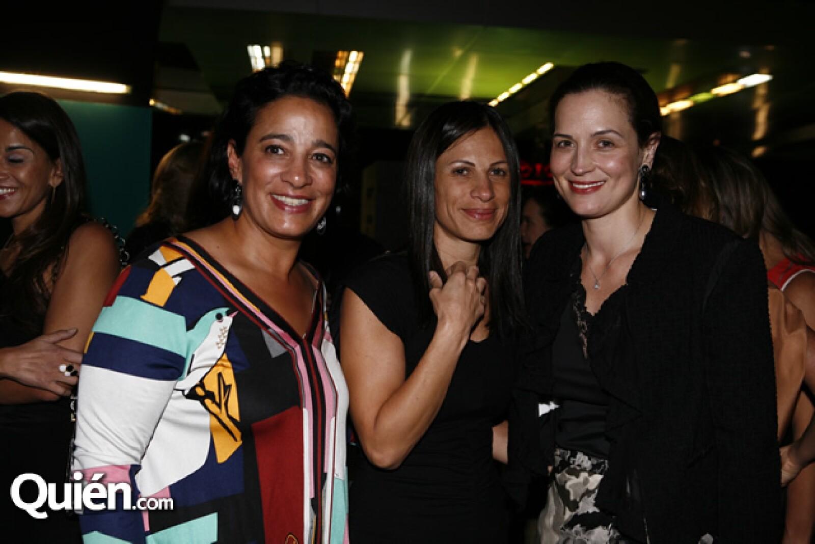 Alma y Andrea Salem y Ximena Serrano de Slim