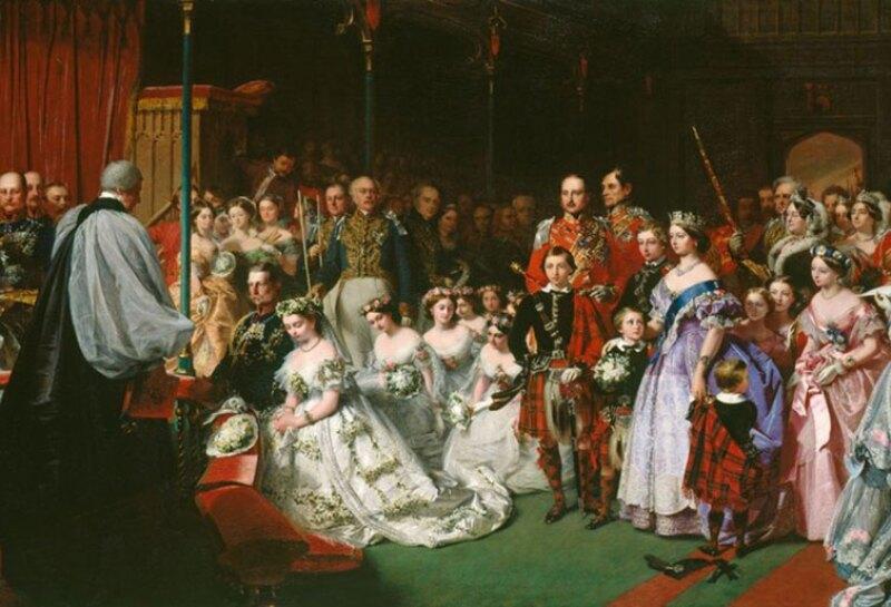 Boda princesa Victoria y Federico III, 1858