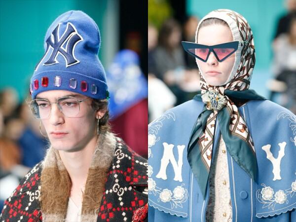 Gucci show, Detail, Fall Winter 2018, Milan Fashion Week, Italy - 21 Feb 2018
