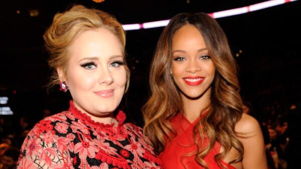 Adele y Rihanna