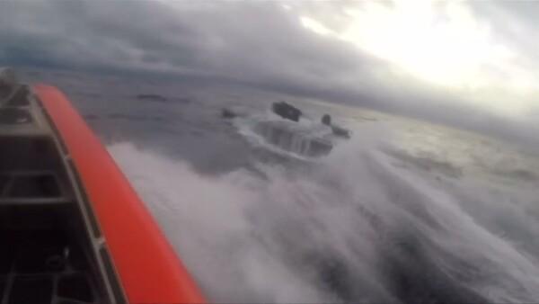 La dramática persecución de un submarino que transportaba droga en costas de EU