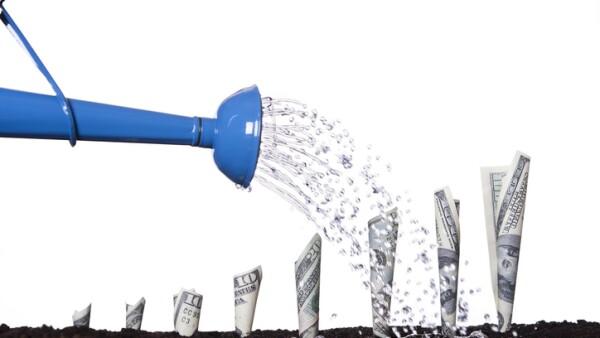 Watering Money to Make it Grow