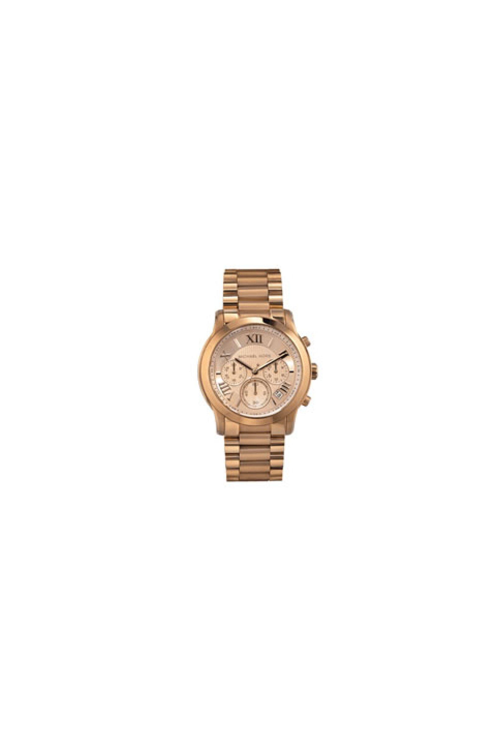 La puntualidad es una de sus más grandes virtudes, ayúdala a mantener el ritmo y la presión del trabajo con un reloj como el de Michael Kors.