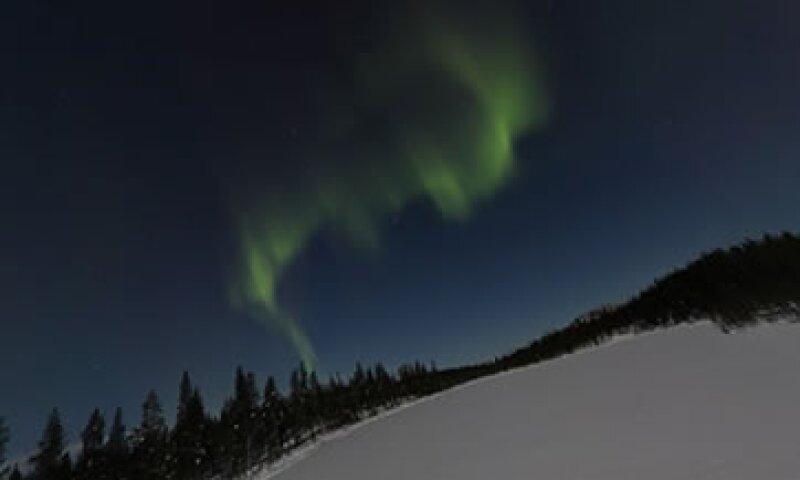 La aurora boreal solo es posible verla en ciertas latitudes y época del año. (Foto: tomada de Google Maps)