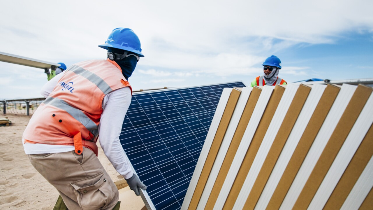 ¿Cuánto se debe invertir en energía?